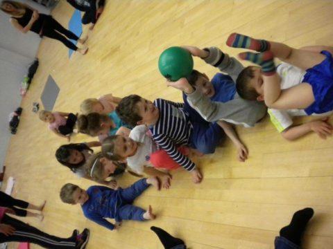 Practicing Coordination Skills!