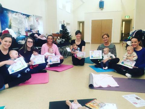 Mothers-&-Babies-Yoga-Class-Consett
